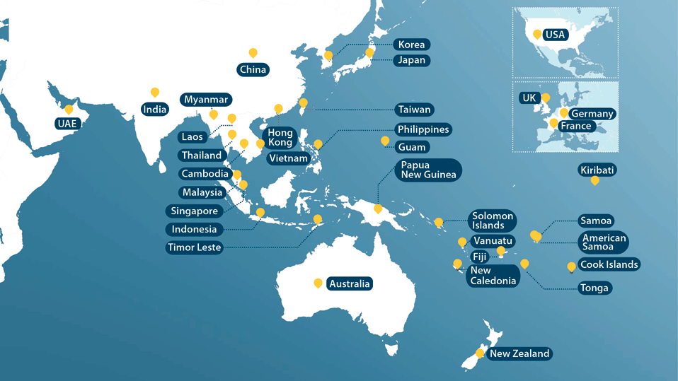 Australia Global Map.About Anz Anz Shareholder Centre