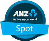 ANZ We live in your world. Spot