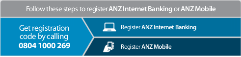 Register ANZ Internet Banking & Mobile now and enjoy many benefits!