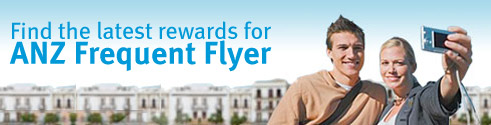 Find the latest rewards for ANZ Frequent Flyer.