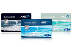 ANZ usiness Visa Debit card
