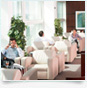 Complimentary airport lounge access
