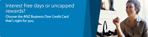 Interest free days or uncapped rewards? Choose the ANZ Business One Credit Card that&aposs right for you.