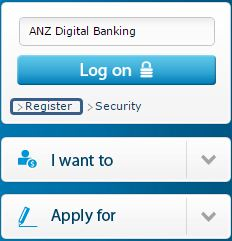 anz register for internet banking