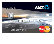 ANZ Switch Platinum Card