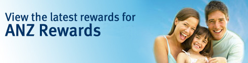View the latest rewards for ANZ Rewards