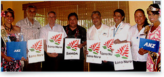 ANZ Samoa honoured with Lotonu'u Award