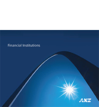 ANZ's Financial Institutions Brochure