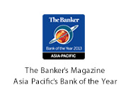 The Banker's Magazine. Asia Pacific's Bank of the Year.