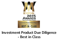Investment Product Due Diligence - Best in Class