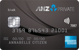 ANZ Private Frequent Flyer Platinum AMEX