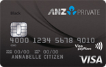 ANZ Private Frequent Flyer Platinum Visa