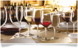 Receive a Bormioli dining set of 13 glass items
