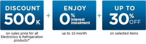 ANZ Credit Card Nguyen Kim Visa Card Loan 0% interest rate 30% off