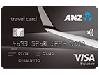 ANZ platinum visa credit card