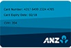 ANZ Virtual Card