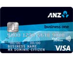 ANZ Business Visa credit card