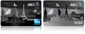 ANZ Frequent Flyer Black
