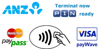 ANZ Terminal now PIN ready