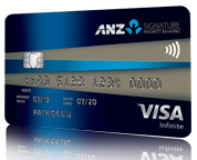 Signature Priority Banking Visa Infinite Credit Card