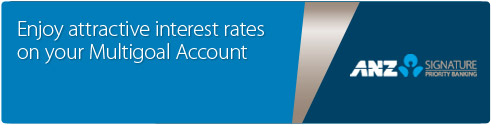 Enjoy attractive interest rates on your Multigoal Account