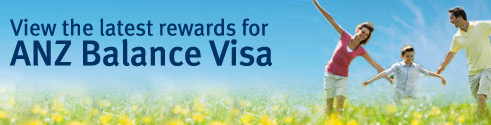 View the latest rewards for ANZ Balance Visa