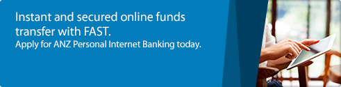 Instant and secured online funds transfer with FAST.