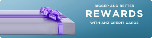 Bigger and better rewards with ANZ credit cards