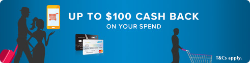 Up to $100 Cash Back on Your Spend