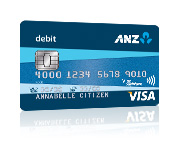 ANZ Visa Debit Card
