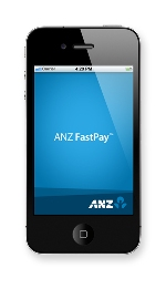 ANZ FastPay mobile screen