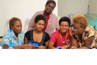 Helping women save in the Solomons