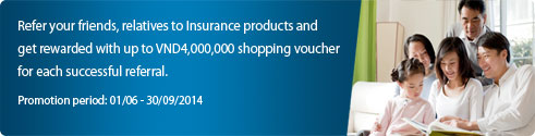 Refer your friends, relatives to Insurance products and get rewarded