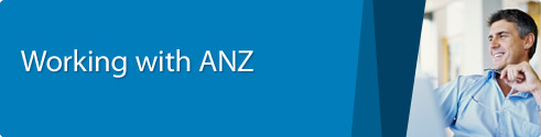 Working with ANZ